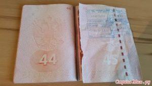 Сколько стоит поменять паспорт испорченный