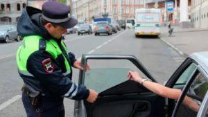 Как ездить тонированным без штрафов