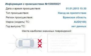 Информация о происшествии дтп по номеру 360046096