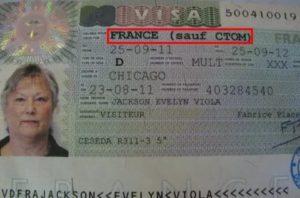 Разрешение на работу во франции