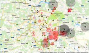 Карта экологии москвы и московской области 2019 онлайн