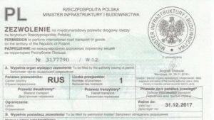 Российские дозволы фото