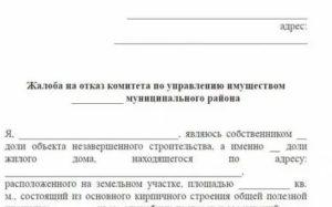 Письмо жалоба в администрацию города образец