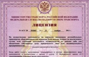 Лицензия на грузоперевозки для ип