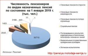 Количество пенсионеров в сша на 2019 год