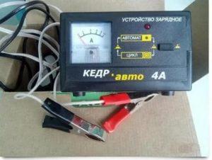 Зу кедр авто 4а как им заряжать кальциевые аккумуляторы