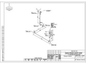 Как сделать изометрию трубопровода по плану и пофилю