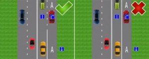 Как высадить пассажира на выделенной полосе на остановке