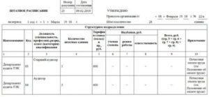 Как в штатном расписании отразить почасовую оплату образец