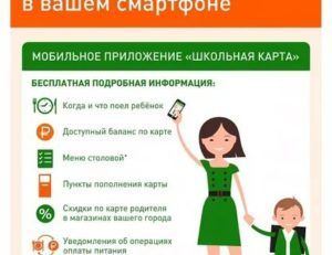 Как активировать карту для питания школьника