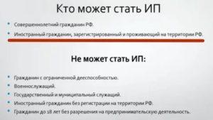 Как открыть украинцу ип в россии