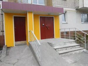 Ремонт входных групп подъездов жилого дома