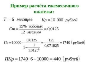 Как рассчитать кредит самостоятельно формула расчета по балансу