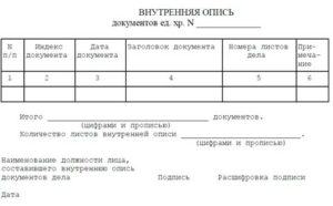 Можно ли в описи нумеровать документ как 1 страницу