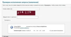 Проверка статуса запроса онлайн росреестр
