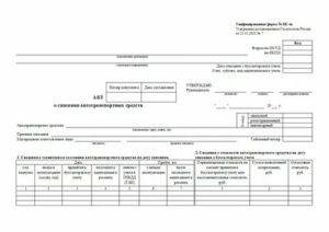 Списание машин в бюджетной организации