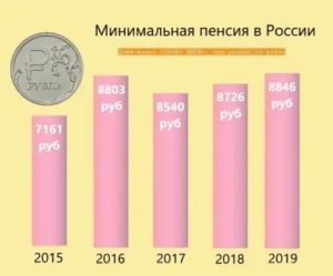 Гразмер социальной пенсии в 2019году в нсо