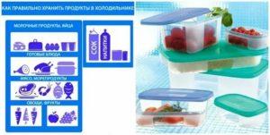 Правильное товарное соседство в холодильнике