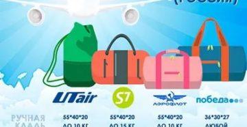 Сколько можно взять кг багажа в самолет