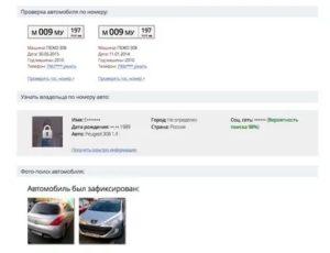 Найти хозяина по номеру автомобиля бесплатно
