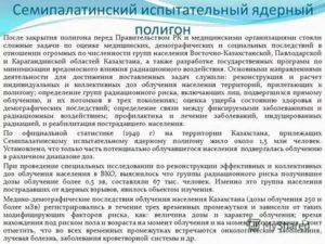 Льготы военнослужащим семипалатинского полигона в казахстане
